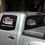Premier Leather Restoration Automobile Signage/Graphics - by Krunch Time Design